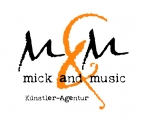 Logo mick and music